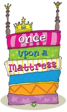 once upon a mattress graphic